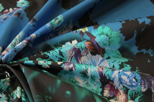 Шитье ручной работы. Ярмарка Мастеров - ручная работа. Купить Ткань 20901 итальянский купонный коттон. Handmade. Комбинированный