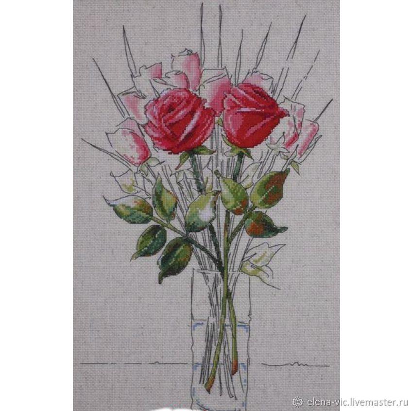 """Набор для вышивания Design Works """"Розы"""", Схемы для вышивки, Смоленск,  Фото №1"""