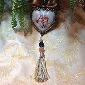 Подарки к праздникам ручной работы. Ярмарка Мастеров - ручная работа Керамическое декоративное сердце. Handmade.