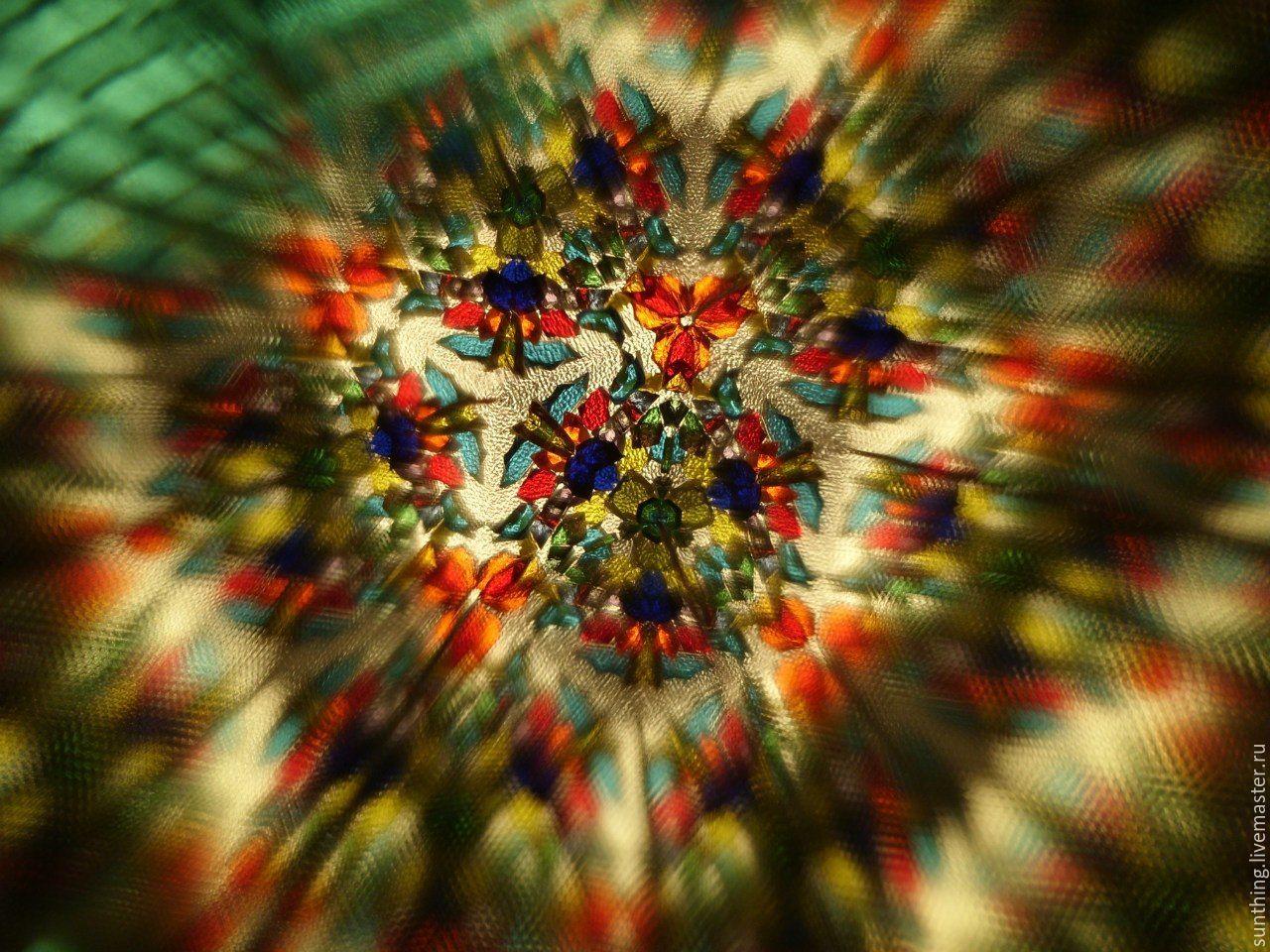 Kaleidoscope Patterns Unique Decoration