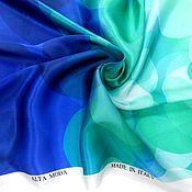 Материалы для творчества ручной работы. Ярмарка Мастеров - ручная работа Шелковый атлас,купон ,Италия. Handmade.