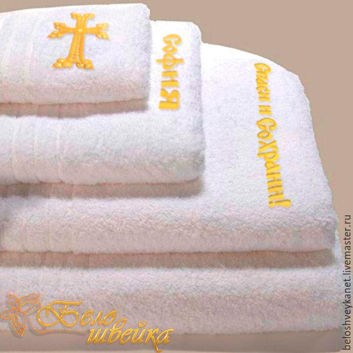 Машинной вышивки на крещение
