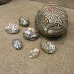 Анастасия Нестратенко Каменный кот - Ярмарка Мастеров - ручная работа, handmade