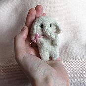 Украшения handmade. Livemaster - original item Elephant brooch made of wool. Handmade.