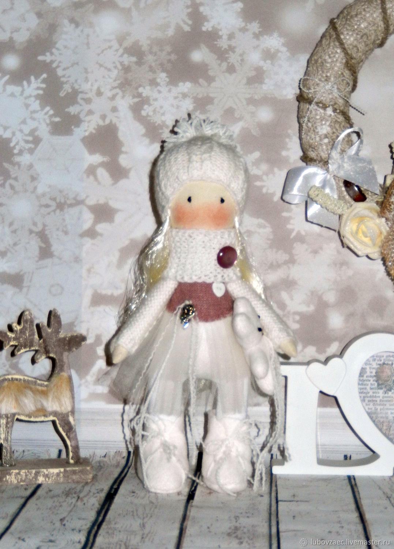 Кукла текстильная Новогодняя маленькая, Тыквоголовка, Йошкар-Ола,  Фото №1
