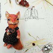 Куклы и игрушки ручной работы. Ярмарка Мастеров - ручная работа Лис  Льюис. Handmade.