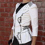 Одежда ручной работы. Ярмарка Мастеров - ручная работа Белый Ферзь. Handmade.