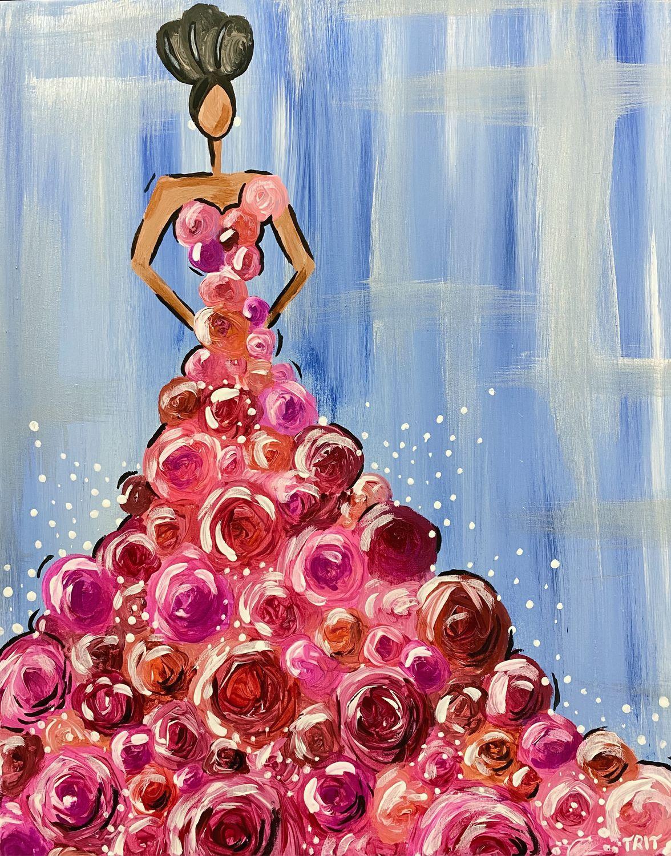 Картина в интерьер «Леди Роза». Интерьерная картина, Картины, Москва,  Фото №1