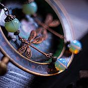 """Украшения ручной работы. Ярмарка Мастеров - ручная работа Серьги """"Dragonfly"""". Handmade."""