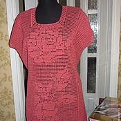 Одежда handmade. Livemaster - original item crochet tunica
