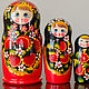 Matreshka 5 places. Dolls1. Russian souvenir. My Livemaster. Фото №4