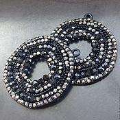 Материалы для творчества handmade. Livemaster - original item Pendant black crystal art. 7-14. Made In Italy. Handmade.