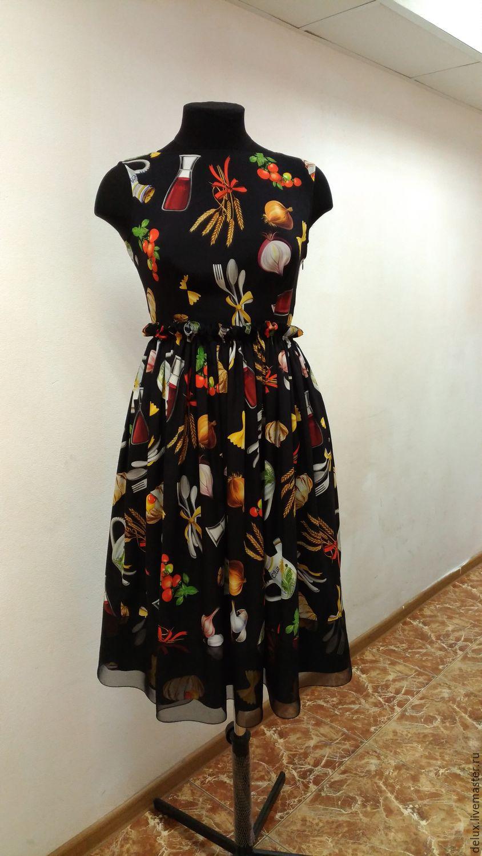 Платье шелк дольче