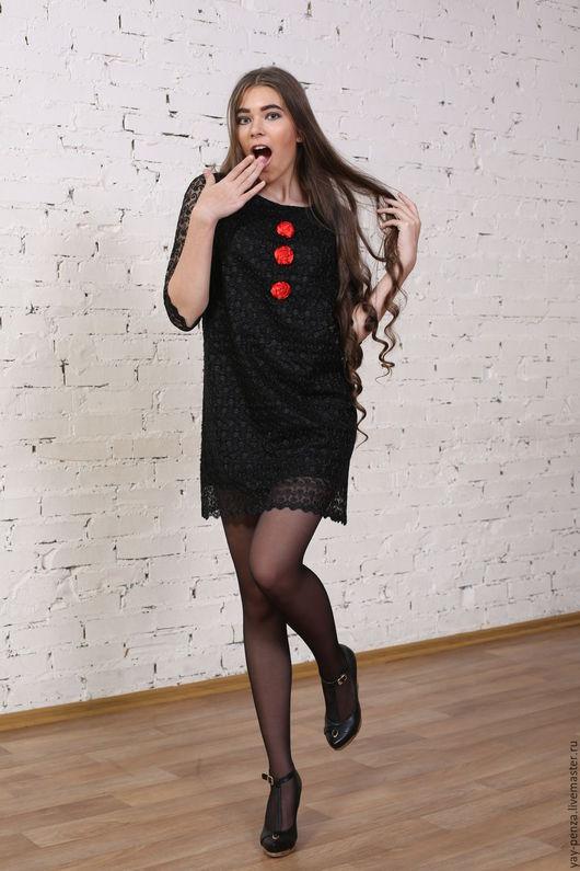 Платья ручной работы. Ярмарка Мастеров - ручная работа. Купить Платье Арт.1268 B. Handmade. Черный, однотонный
