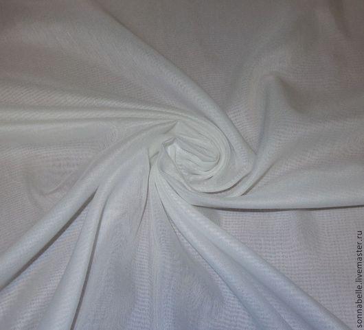 Шитье ручной работы. Ярмарка Мастеров - ручная работа. Купить Ткань Батист матовый Белый. Handmade. Белый, тюль, шторы