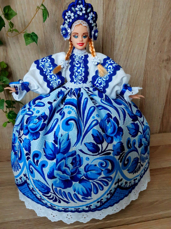 Кукла-грелка на чайник, Народные сувениры, Зверево,  Фото №1