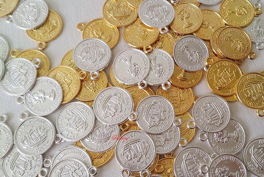 Другие виды рукоделия ручной работы. Ярмарка Мастеров - ручная работа. Купить Монетки декоративные. Handmade. Монетки, монеты