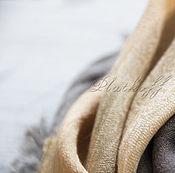 """Аксессуары handmade. Livemaster - original item Шерстяной базовый платок из ткани ETRO """"Традиционная"""" мультиколор. Handmade."""