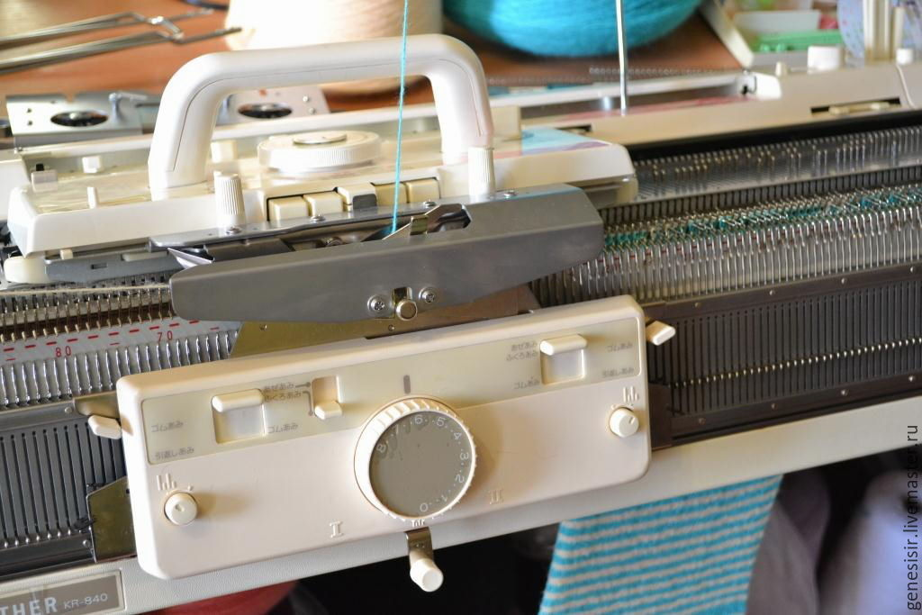 Brother машинка для вязания 84