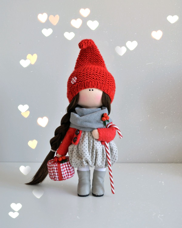 Christmas gnome, Interior doll, Aldan,  Фото №1