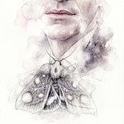 Картины и панно ручной работы. Ярмарка Мастеров - ручная работа Туман. (в частной коллекции). Handmade.
