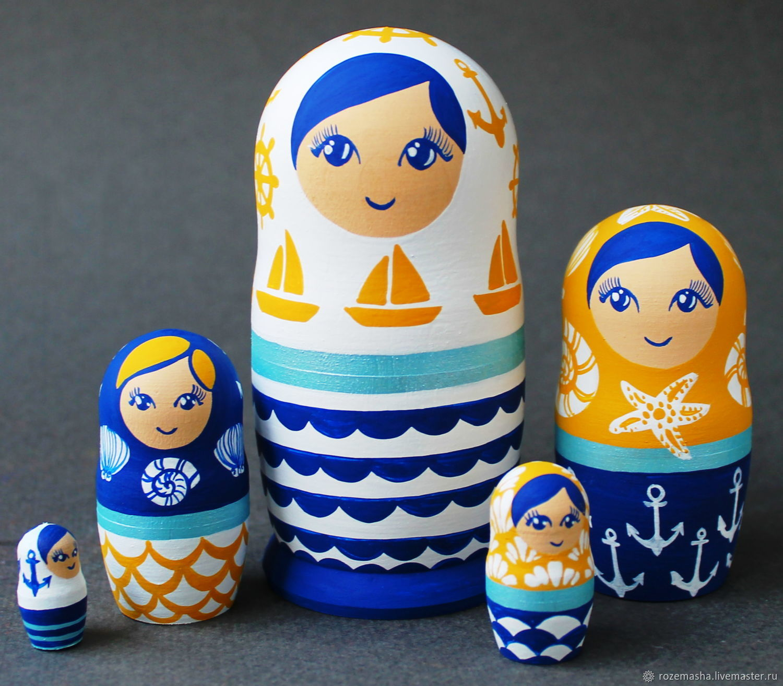 Dolls: Interior Matryoshka Matryoshka Sea Geometry 5m, Dolls1, St. Petersburg,  Фото №1