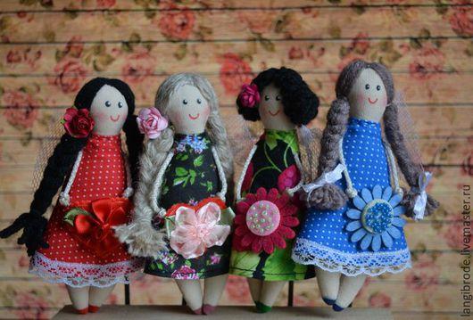 Сказочные персонажи ручной работы. Ярмарка Мастеров - ручная работа. Купить Весенние гномочки. Handmade. Комбинированный, ангелочки, цветок, шерсть