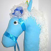 Куклы и игрушки ручной работы. Ярмарка Мастеров - ручная работа Лошадь на палке. Handmade.