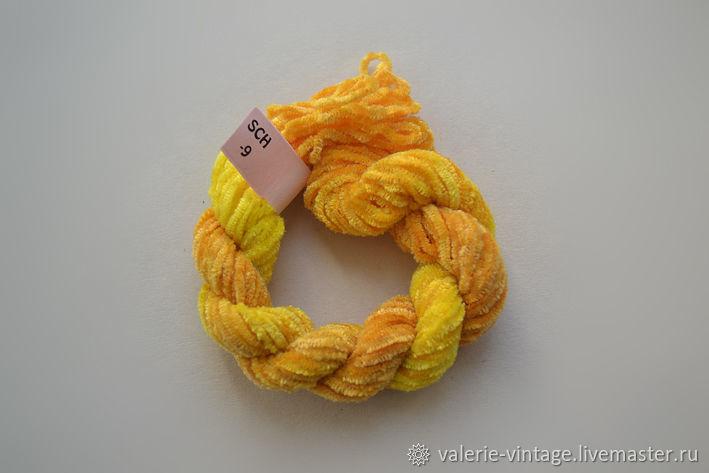 Silk chenille (no. №09), Thread, Moscow,  Фото №1