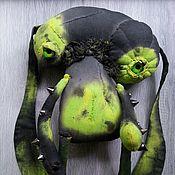 Мягкие игрушки ручной работы. Ярмарка Мастеров - ручная работа Чердачный монстр-заяц. Handmade.