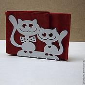 Для дома и интерьера ручной работы. Ярмарка Мастеров - ручная работа кот и кошка. Handmade.