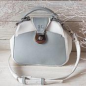 Сумки и аксессуары handmade. Livemaster - original item Bag-bag over shoulder: Carpetbag Grey. Handmade.
