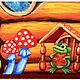 Детская ручной работы. Заказать (08)Кукольный театр (1450х760), ширма «Теремок». sAnto. Ярмарка Мастеров. Для детей, представление