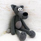 Куклы и игрушки handmade. Livemaster - original item knitted toy. Wolf (from the movie