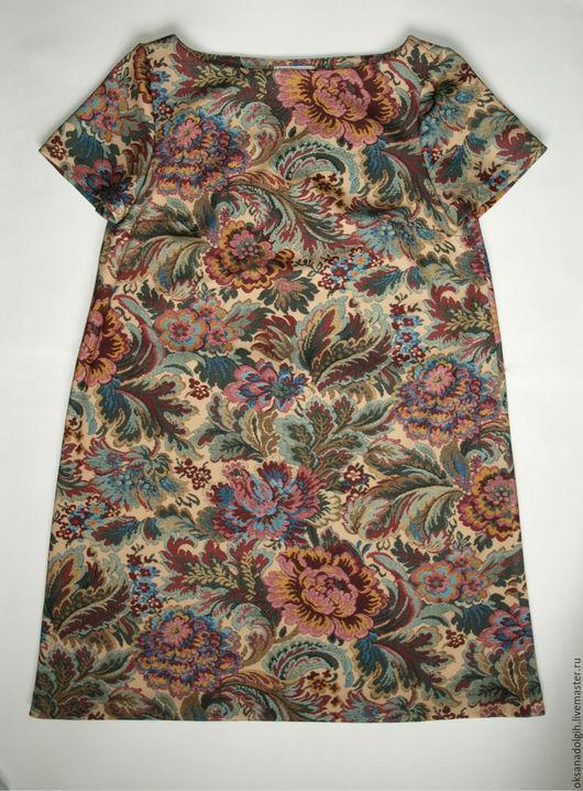Платье из неопрена в стиле 60х. Оксана Долгих