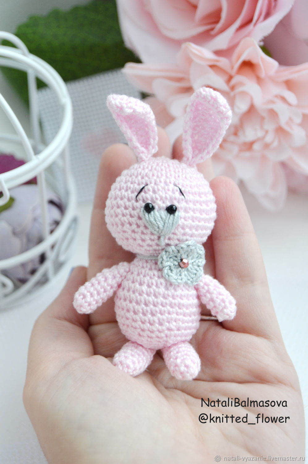 Little knit bunnies in stock – shop online on Livemaster with ...