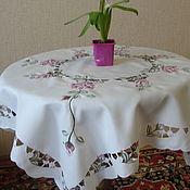 Предметы интерьера винтажные ручной работы. Ярмарка Мастеров - ручная работа Розовая полянка. Handmade.
