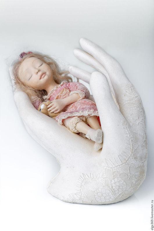 Коллекционные куклы ручной работы. Ярмарка Мастеров - ручная работа. Купить Авторская кукла ручной работы Мама, ангел мой.... Handmade.