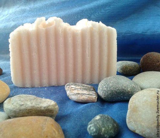 Мыло ручной работы. Ярмарка Мастеров - ручная работа. Купить соляное натуральное мыло с нуля для жирной кожи. Handmade.