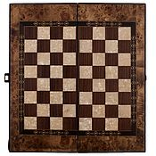 Сувениры и подарки handmade. Livemaster - original item # Backgammon-checkers gift