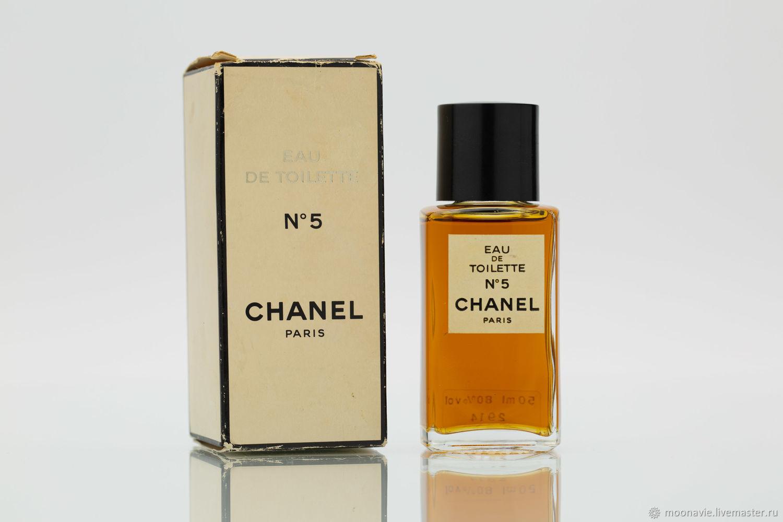 CHANEL 5 (CHANEL) eau de toilette (EDT) 50 ml VINTAGE, Vintage perfume, St. Petersburg,  Фото №1