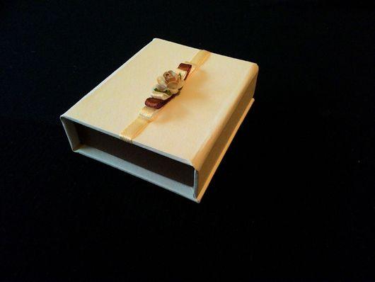 Подарочная упаковка ручной работы. Ярмарка Мастеров - ручная работа. Купить Коробочка для флешки. Handmade. Коробочка для флешки, фотографу