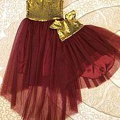 Костюмы ручной работы. Ярмарка Мастеров - ручная работа Комплект платьев для мамы и дочки. Handmade.