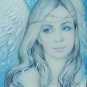 Картины и панно ручной работы. Ярмарка Мастеров - ручная работа Ангел Небесный.... Handmade.