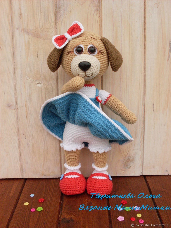мастер класс по вязанию крючком собачка молли купить в интернет