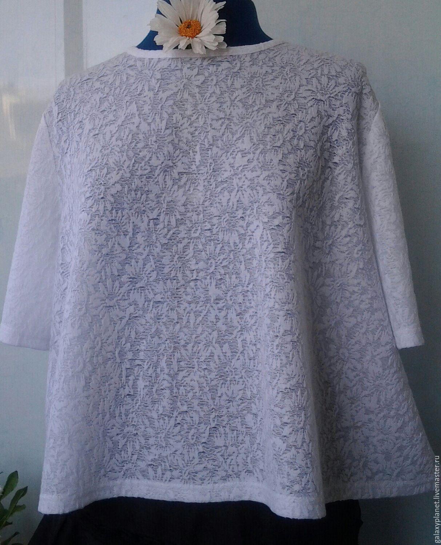 Блузка трапеция доставка