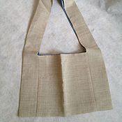 Для дома и интерьера ручной работы. Ярмарка Мастеров - ручная работа экосумка. Handmade.
