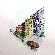 Картины и панно ручной работы. Ярмарка Мастеров - ручная работа Амстердам. Handmade.