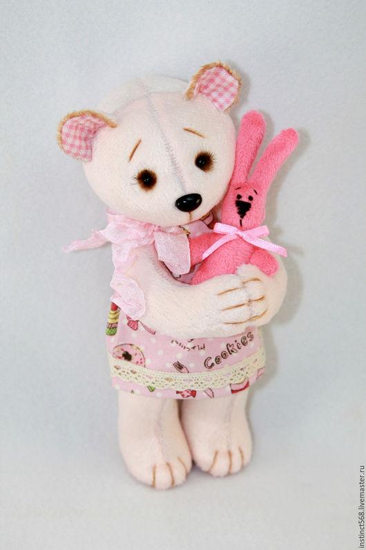 Игрушки животные, ручной работы. Ярмарка Мастеров - ручная работа. Купить Селин. Handmade. Розовый, мишка тедди, авторская игрушка