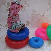 Куклы и игрушки ручной работы. Ярмарка Мастеров - ручная работа Медведица Роззи. Handmade.